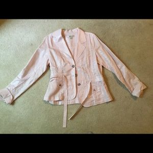 Like new Coldwater Creek Belted Jacket